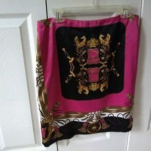 Boston Proper Silk Skirt, design by Andrea Behar.